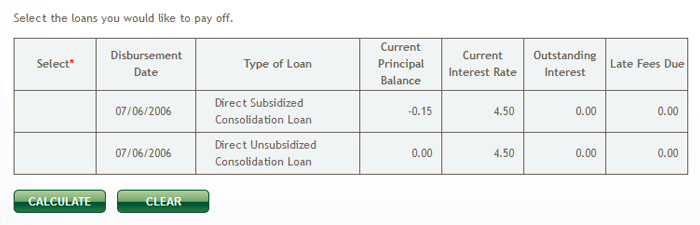 And that's the end of my student loans.